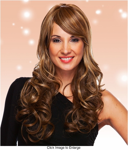 Heat and Styling Friendly Long Glamor Curls Wig