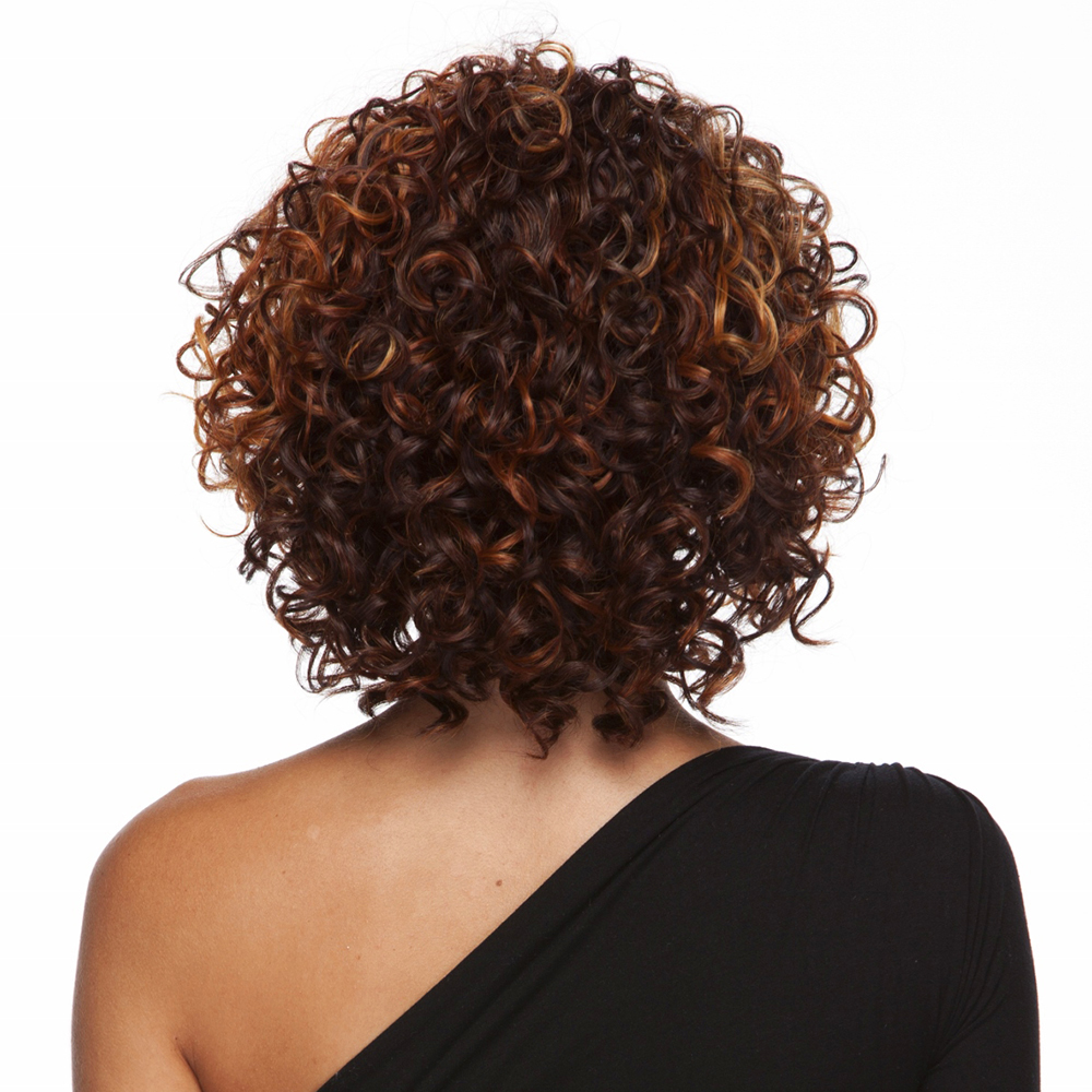 Heat Friendly Glamour Curl 3/4 Wig