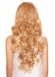 Heat Safe Lace Front Wig Holiday with Long Glamour Curls inset 2