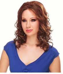 Lace Front Wig with Wavy Shoulder Length Hair