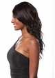 Heat Friendly Long Hair Wig w/ Tousled Water Waves & Side Swept Bangs inset 1