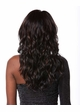 Heat Friendly Long Hair Wig w/ Tousled Water Waves & Side Swept Bangs inset 2