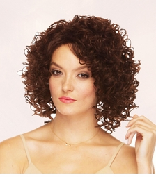 Heat Safe Curly  Volume Wig