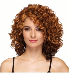 Heat Safe Lace Front Curly Wig