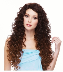 Heat Safe Lace Front Wig with Long Angel Curls