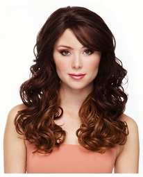 Heat Safe Lace Front Wig with Tousled Glamour Curls