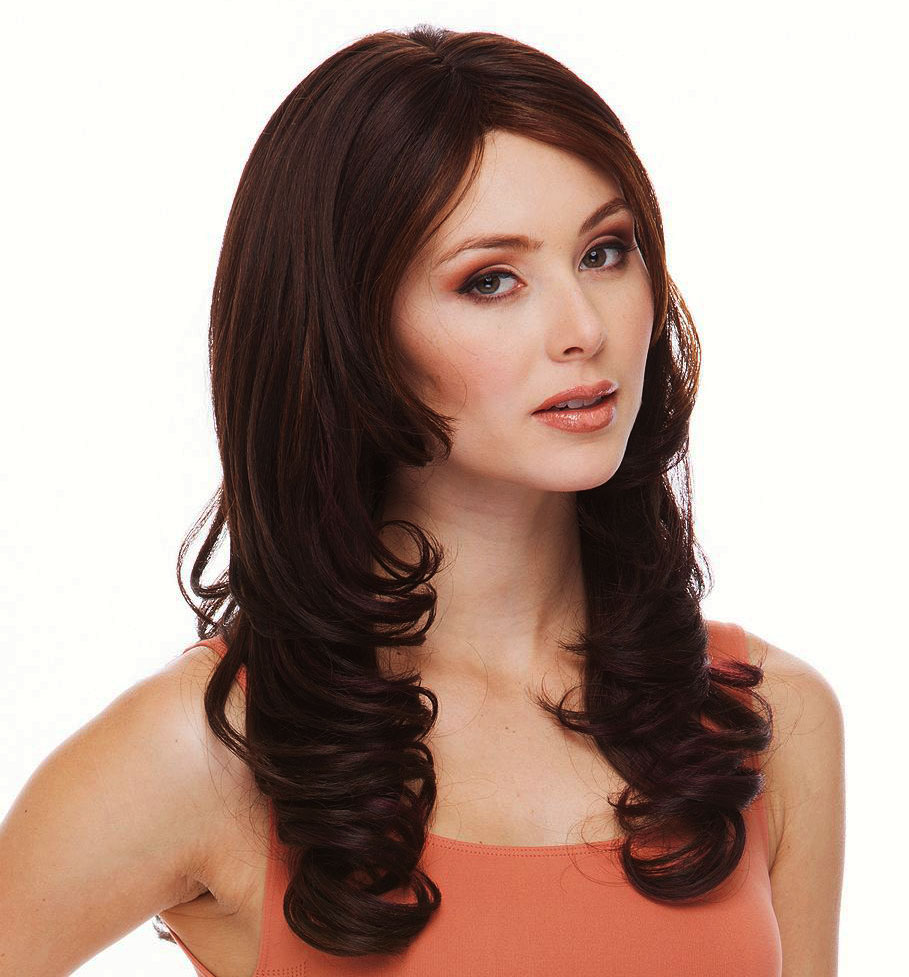Heat Safe Layered Curly Wig