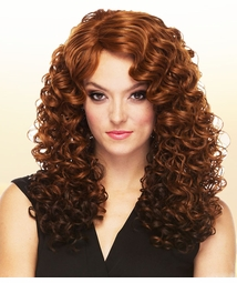 Heat Safe Long Angel Curl Wig
