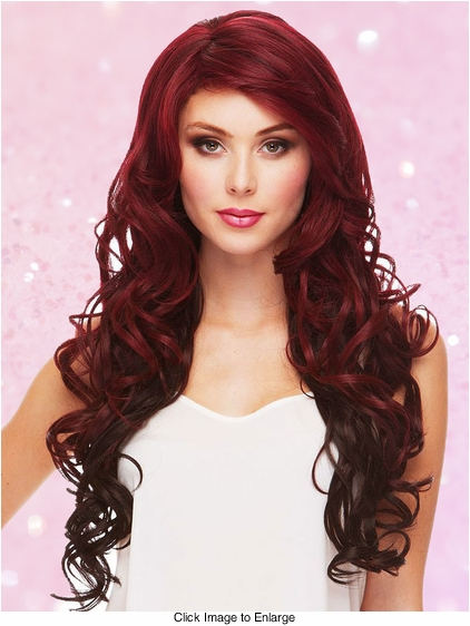 Heat Safe Long Glamour Curl Wig