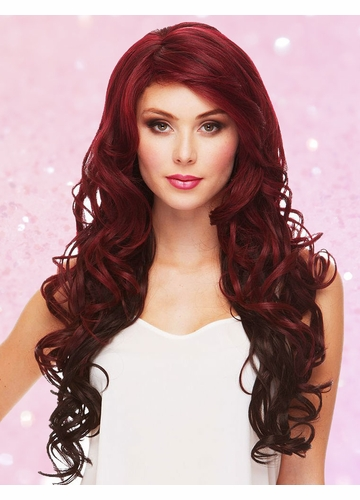 Heat Safe Long Glamour Curl Wig Boston