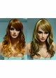 Heat Safe Long Tousled Layers Wig Pandora with Rich Bangs inset 1