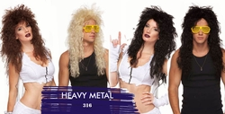 Heavy Metal Unisex Wig