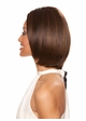 Human Hair Blend Lace Front Wig in Stylish Bob inset 1