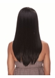 Human Hair Blend Lace Front Wig with Smooth Long Layers inset 1