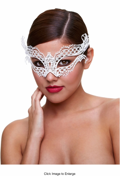 Ice and Fire Masquerade Mask