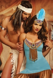 Indian and Cowgirl Costumes