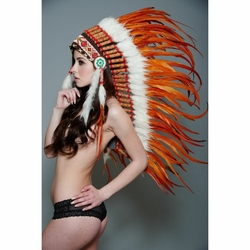Indian Feather Headdresses