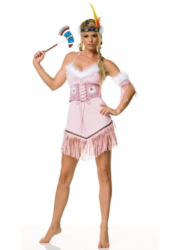 Indian Girl Costume in Pink