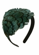 Iridescent Green Feather Headband inset 1