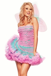 Irridescent Fairy Costume with Wings