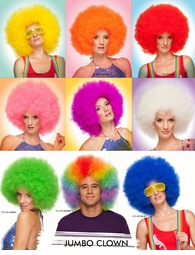 Jumbo Afro Wig Available in Many Colors