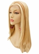 Lace Front Wig with Long Straight Hair Heat and Styling Friendly inset 2