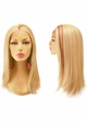 Lace Front Wig with Long Straight Hair Heat and Styling Friendly inset 3