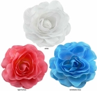"""Large 4.5"""" Wide Flower Hair Clip (available in 30 colors)"""