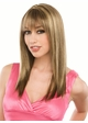 Layered Straight Jewel Wig with Side Bangs inset 1