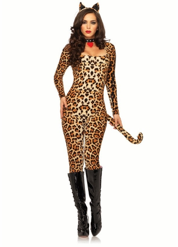 Leopard Leotard Costume from Leg Avenue