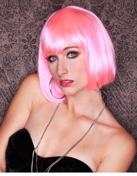 Light Pink Bob Wig Cindy