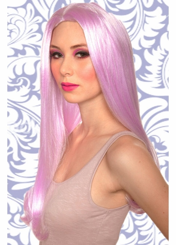Lilac Long Wavy Ashley Wig