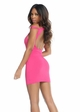 Little Pink Dress with Open Back inset 1