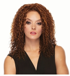 Long and Curly Heat Safe 3/4 Wig