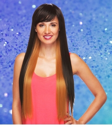 Long and Straight Heat Safe Wig
