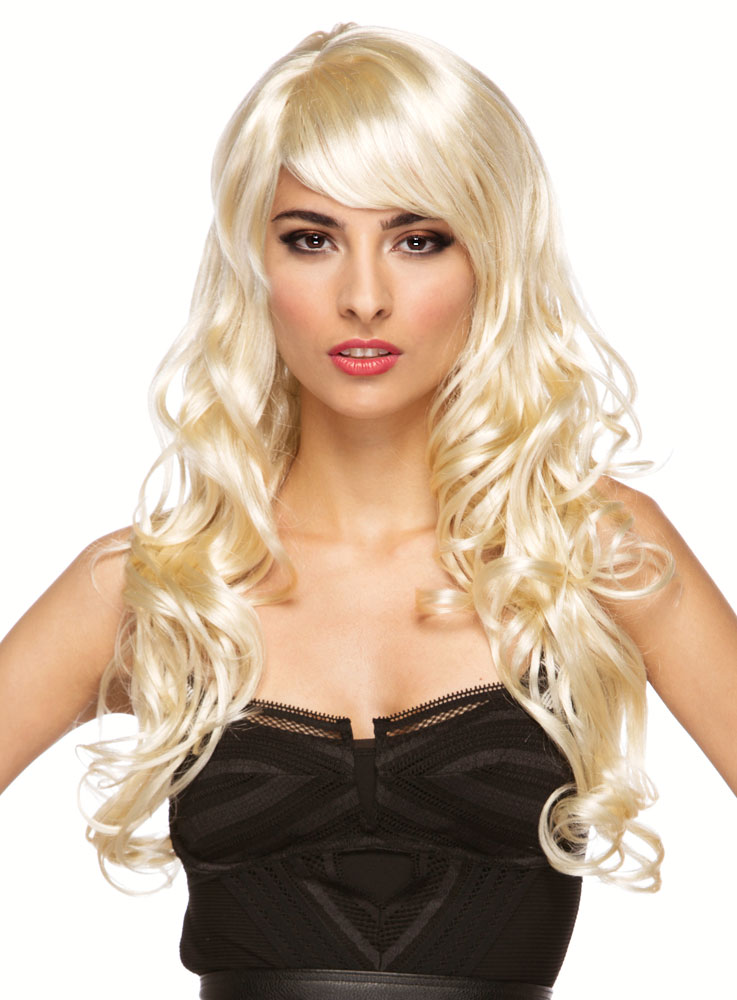 Long Blonde Girl Wig 117