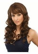 Long Bouncy Curls Human Hair Blend Wig inset 1