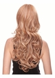 Long Bouncy Glamour Curl Human Hair Blend Wig inset 1