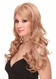 Long Bouncy Glamour Curl Human Hair Blend Wig inset 2