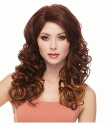 Long Glamour Curls Lace Front Wig