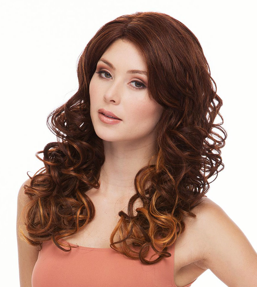 Curling Lace Front Wigs 14