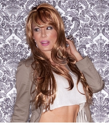 Long Glamour Layered Wig  with Bangs