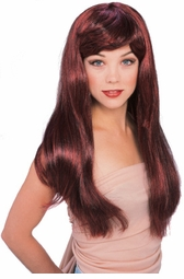 Long Glamour Lolita Wig in Mixed Red/Black