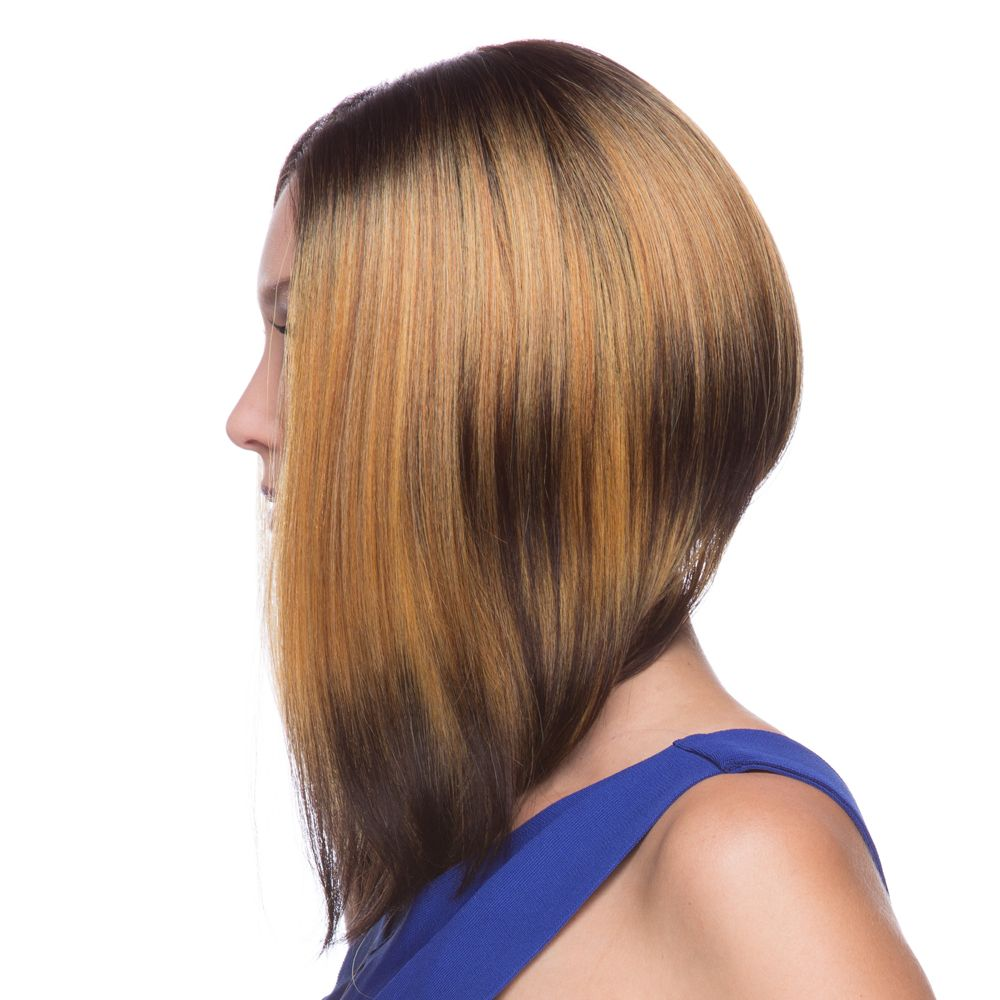 Long Graduated Bob Lace Front Wig Libby