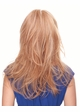 Long Layered Blend Human Hair Wig inset 2