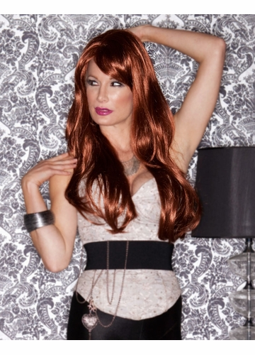 Long Layered Sultry Wig with Bangs