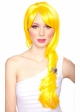 Long Layered Sunburst Yellow Wig with Bangs inset 1