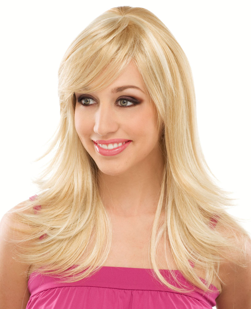 Long Layered Wig with Bangs Fantasy