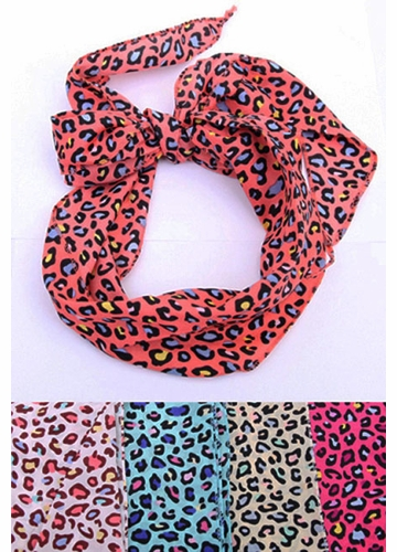 Long Print Scarf/Headband