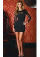 Long Sleeve Dress with Lace Detail inset 2